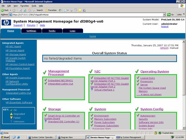 Tasks For Hp Proliant Servers