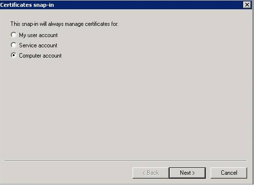 Updating WSUS certificate to trusted certificate repository